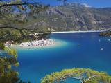 Oludeniz Beach  Fethiye  Anatolia  Turkey  Asia Minor  Eurasia