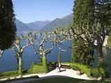 Gardens of Villa del Balbianello on Punta di Lavedo  Lenno  Lake Como  Italian Lakes  Italy