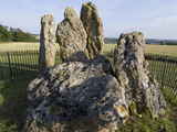 The Kings' Men  Neolithic Standing Stone Circle  2500BC  Oxfordshire Warwickshire Border  England