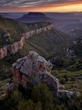Steamboat Mountain  Grand Canyon Nat'l Park  UNESCO World Heritage Site  Arizona  USA