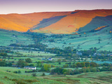 Vale of Edale  Peak District National Park  Derbyshire  England