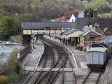 Llangollen Railway  Station  Llangollen  Dee Valley  Denbighshire  North Wales  Wales  UK  Europe
