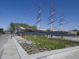 The Renovated Cutty Sark Tea Clipper  Greenwich  London  England  United Kingdom  Europe