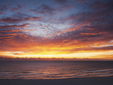 Sunrise over the Atlantic Ocean in Miami Beach  Florida  United States of America  North America