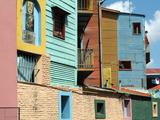 Caminito (Little Street)  La Boca  Buenos Aires  Argentina  South America