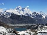 Renjo Pass of Mount Everest  Sagarmatha Nat'l Park  UNESCO World Heritage Site  Nepal