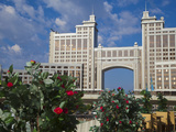 Kazmunaigas Building Home to the Oil and Gas Ministry  Astana  Kazakhstan  Central Asia  Asia