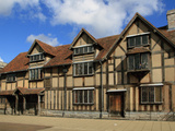 Shakespeare's Birthplace  Stratford-Upon-Avon  Warwickshire  England  United Kingdom  Europe