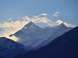 Annapurna Himal Seen from Titi  Annapurna Conservation Area  Dhawalagiri (Dhaulagiri)  Nepal