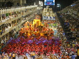 Carnival Parade at the Sambodrome  Rio de Janeiro  Brazil  South America