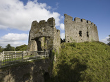 Restormel Castle  Cornwall  England  United Kingdom  Europe