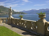 View from Terrace of 18th Century Villa del Balbianello  Lenno  Lake Como  Italian Lakes  Italy