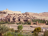 Ancient Kasbah Town of Ait Benhaddou  UNESCO World Heritage Site  Morocco
