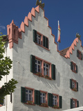 The Facade of the 17th Century Town Hall  Oppenheim  Wine Area  Rhineland Palatinate  Germany