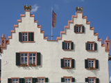 The Facade of the 17th Century Town Hall  Oppenheim  Rhineland Palatinate  Germany  Europe