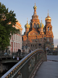 Church on Spilled Blood  UNESCO World Heritage Site  St Petersburg  Russia