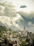 Austrian Village in the Alps  Austria  Europe