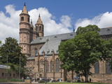 The New-Romanesque Cathedral of St Peter  Worms  Rhineland Palatinate  Germany  Europe