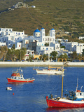 Katapola Port  Amorgos  Cyclades  Aegean  Greek Islands  Greece  Europe