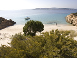 The Island of Spargi  Maddalena Islands  La Maddalena National Park  Sardinia  Italy  Mediterranean