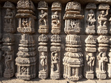 Ornate Erotic Carvings on Konarak Sun Temple  UNESCO World Heritage Site  Konarak  Orissa  India