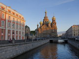 Church on Spilled Blood  UNESCO World Heritage Site  on the Kanal Griboedova  St Petersburg  Russia