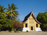 Wat Xieng Thong Buddhist Temple  Luang Prabang  UNESCO World Heritage Site  Laos  Indochina