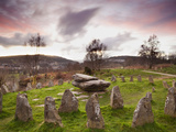 Ancient Gorsedd Stones  Pontypridd  Rhondda  South Wales  Wales  United Kingdom  Europe