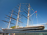 View of the Cutty Sark after Restoration  Greenwich  London  England  United Kingdom  Europe