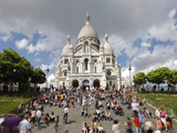Basilique du Sacre Coeur  Montmartre  Paris  France  Europe