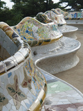 Guell Park (Parc Guell)  UNESCO World Heritage Site  Barcelona  Catalunya (Catalonia)  Spain