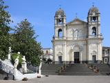 Duomo  Zafferana Etnea  Sicily  Italy  Europe