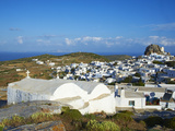 Chora  Amorgos  Cyclades  Aegean  Greek Islands  Greece  Europe
