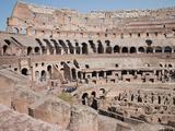 The Amphitheatre of the Colosseum  Rome  Lazio  Italy  Europe