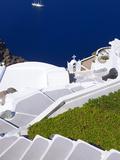 View from Imerovigli  Santorini  Cyclades  Greek Islands  Greece  Europe
