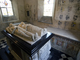 Tombs and Effigies of Hungerford Family  Chapel of 14th Ceny Farleigh Hungerford Castle  England