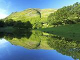 Tarn Near Patterdale  Lake District National Park  Cumbria  England  United Kingdom  Europe