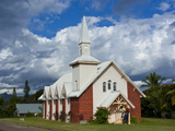 Little Church on the East Coast of Grande Terre  New Caledonia  Melanesia  South Pacific  Pacific