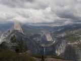 Yosemite Valley from Glacier Point  Yosemite Nat'l Park  UNESCO World Heritage Site  California USA