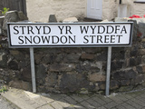 Snowndon Street  Town Center  Llanberis  Gwynedd  Snowdonia  North Wales  Wales  UK  Europe