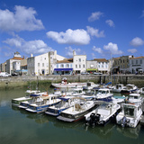 The Harbour  St Martin  Ile de Re  Poitou-Charentes  France  Europe
