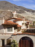 Scotty's Castle in Death Valley National Park  California  United States of America  North America