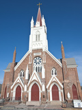 St Mary's in Mountains Church  Nevada's First Roman Catholic Church  Virginia City  Nevada  USA