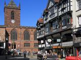 Bridge Street Restaurants  Chester  Cheshire  England  United Kingdom  Europe