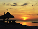 Sunset  Gili Air  Lombok  Indonesia  Southeast Asia  Asia
