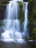 Waterfall  Glen Artney  Near Crieff  Perthshire  Scotland  United Kingdom  Europe