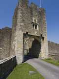 Gatehouse of the 14th Century Farleigh Hungerford Castle  Somerset  England  United Kingdom  Europe