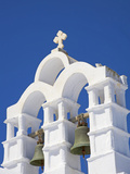 Bells on Church  Chora  Amorgos  Cyclades  Aegean  Greek Islands  Greece  Europe
