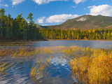 Elbow Pond  Baxter State Park  Maine  New England  United States of America  North America