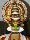 Kathakali Dancer  Kochi (Cochin)  Kerala  India  Asia
